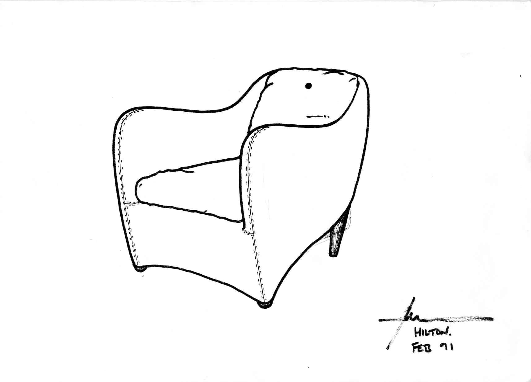 1991 Balzac drawing