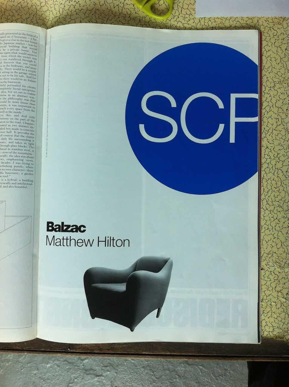 1991 Blueprint Nov Designed by Pentagram Balzac SCP