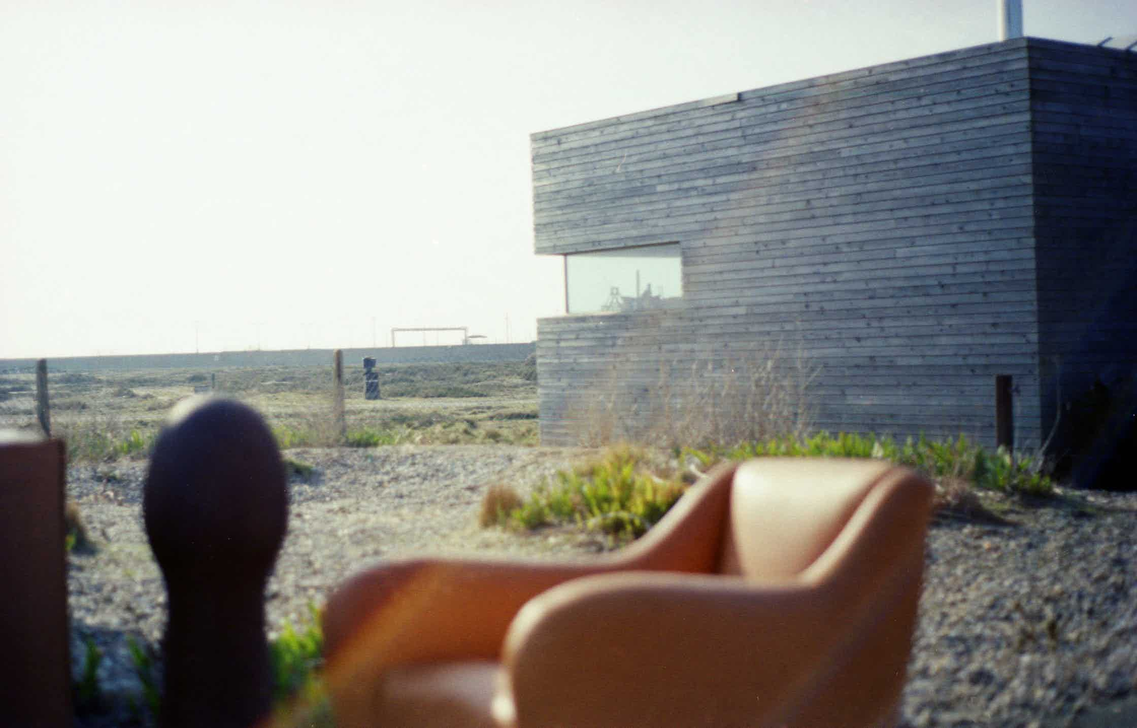 2015 behind the scenes at an SCP shoot in Dungeness
