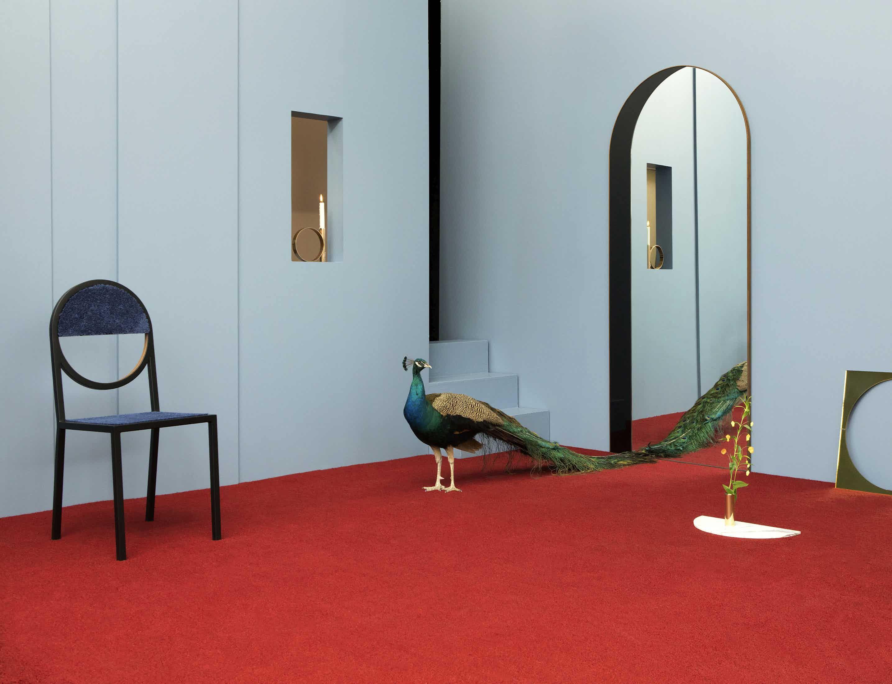 Arch Floor Mirror photo by Charlie Schuck 12