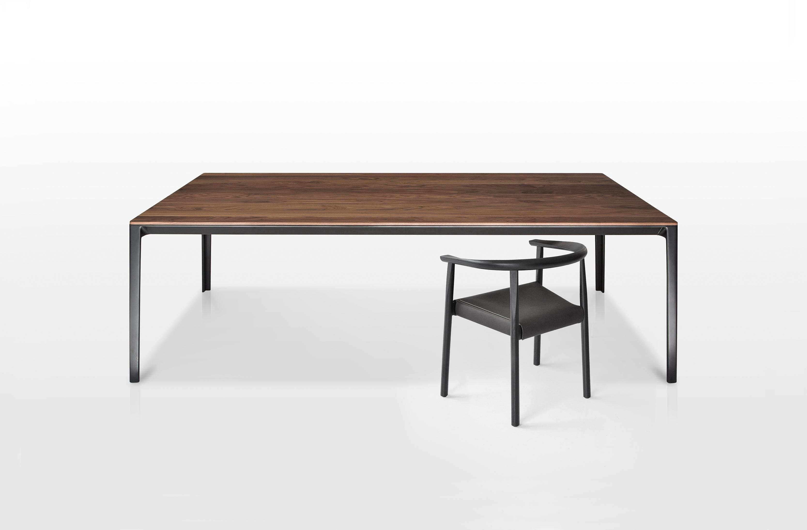 Able Table and Tokyo Chair by Bensen