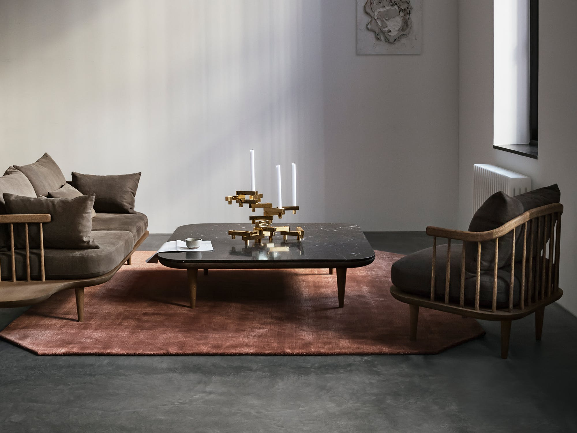 Fly Table and Fly Chair by &tradition