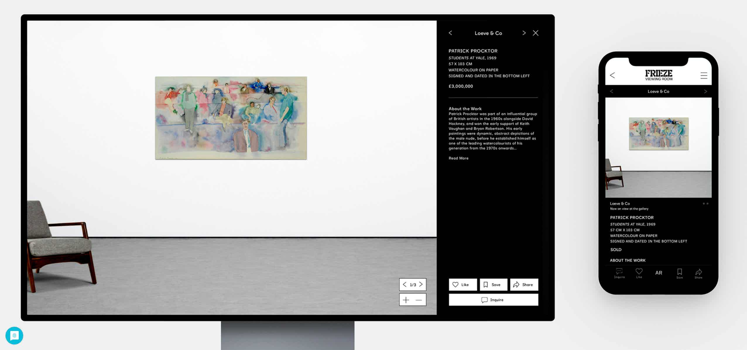 Frieze Art Virtual
