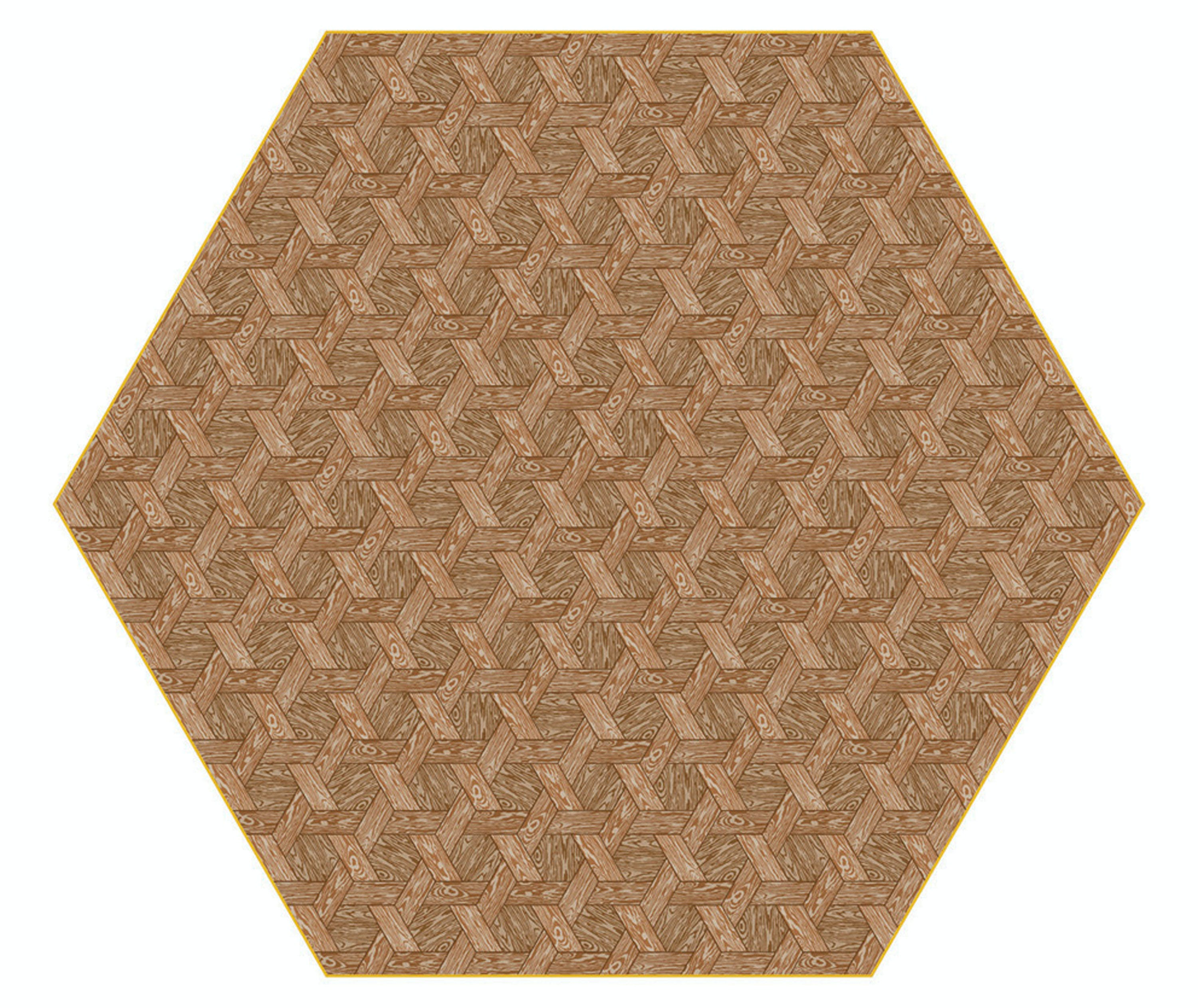 Hexagon Carpet Brown By Studio Job For Moooi Carpets 300Dpi Moooi 1