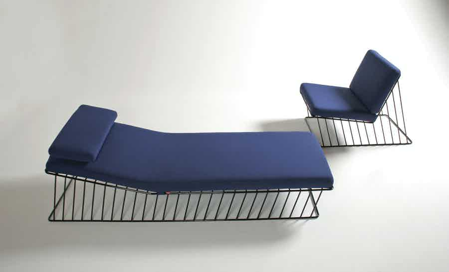 Italic Chaise Lounge Cove