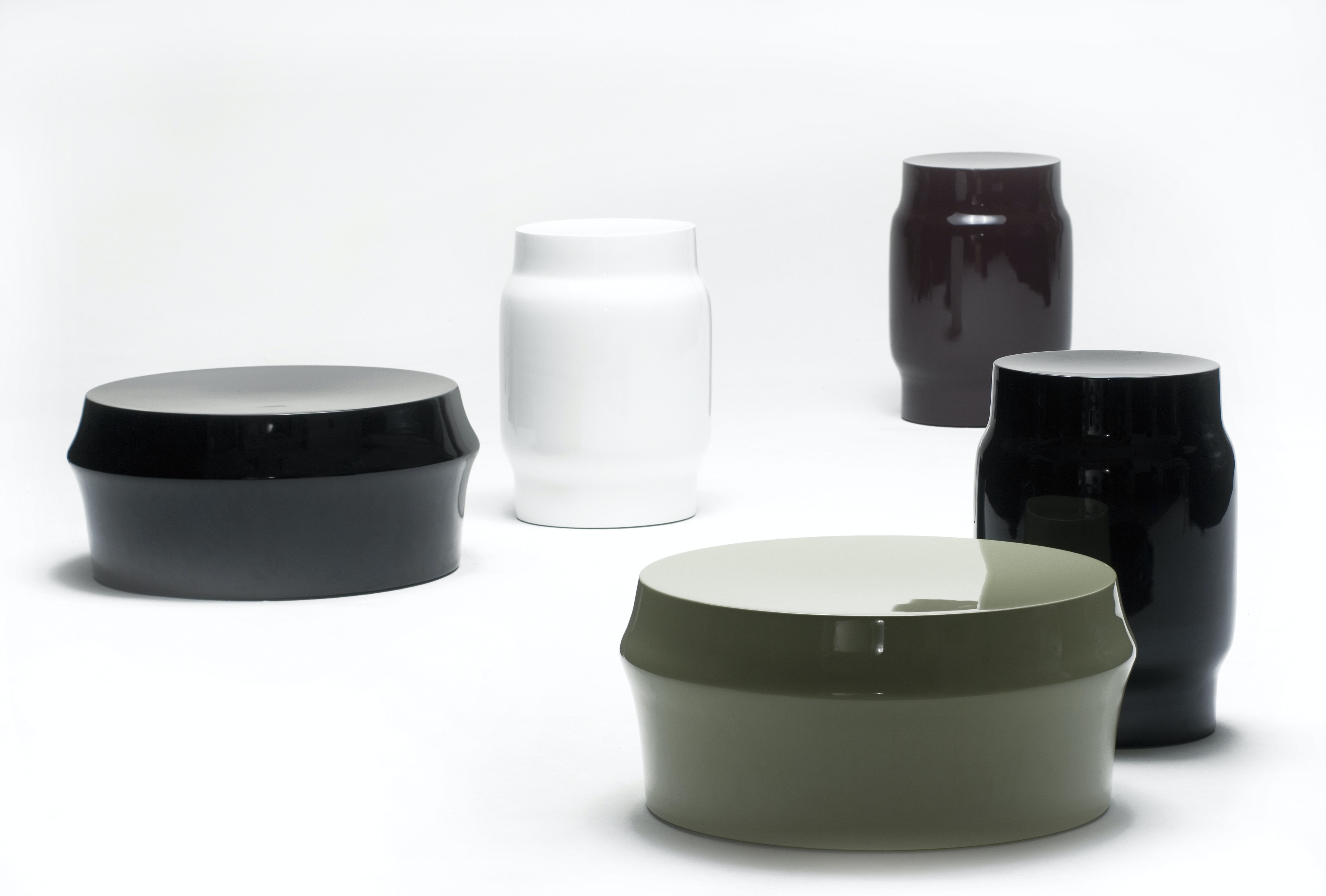 Lianou Stool and Zhuzi Table by Neri & Hu