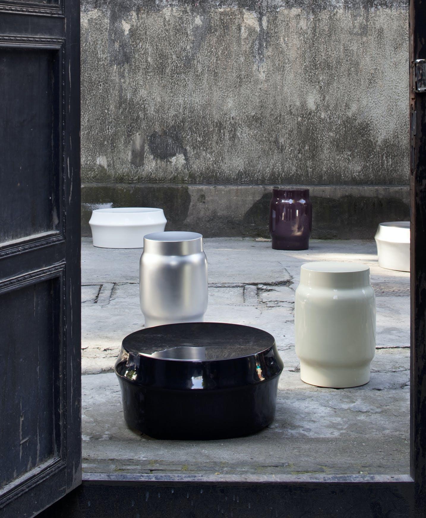 Lianou Stool Zhuzi Table Med