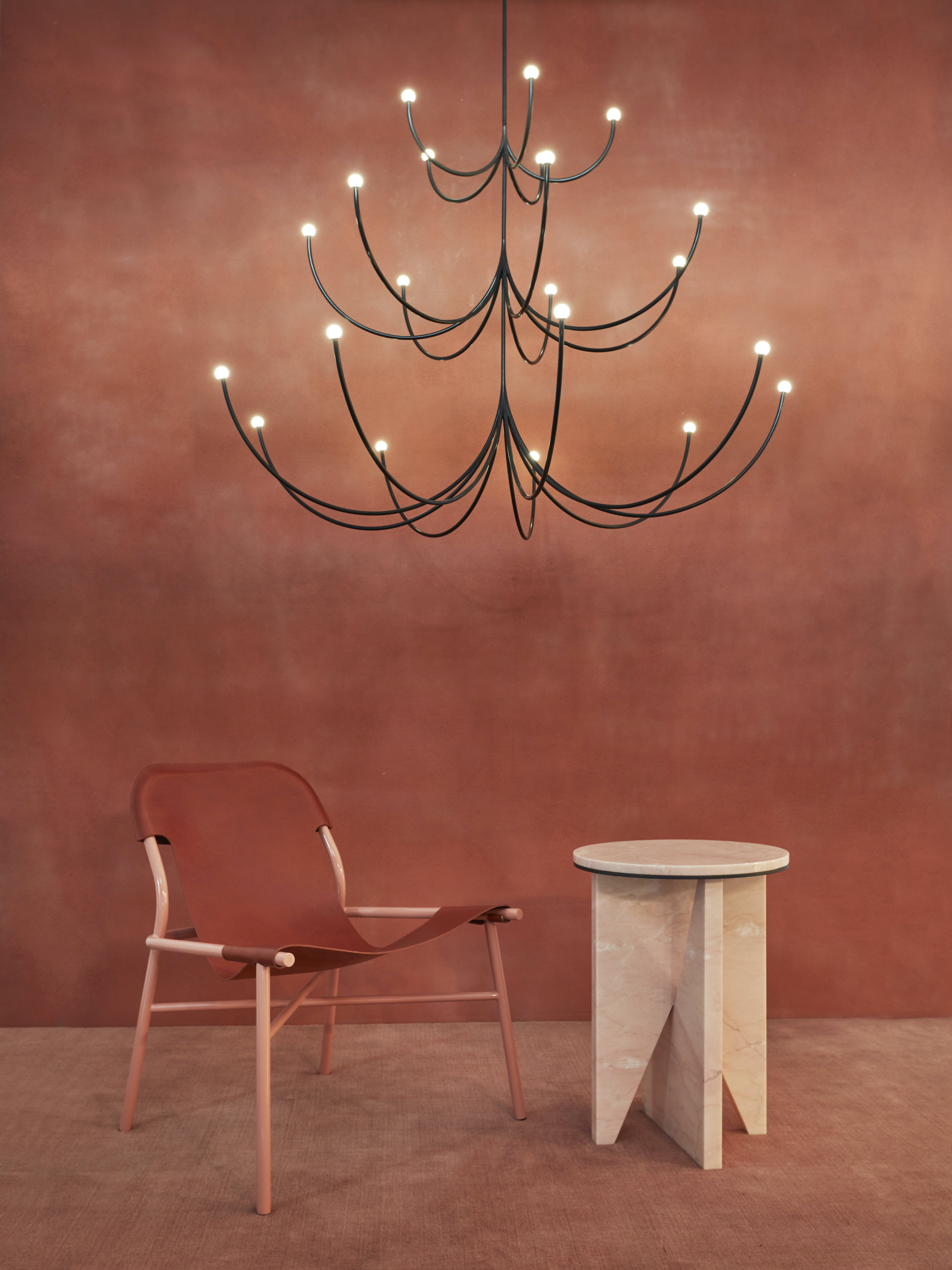 Matter Made Arca Chandelier Ohayo Lounge Affordances Table