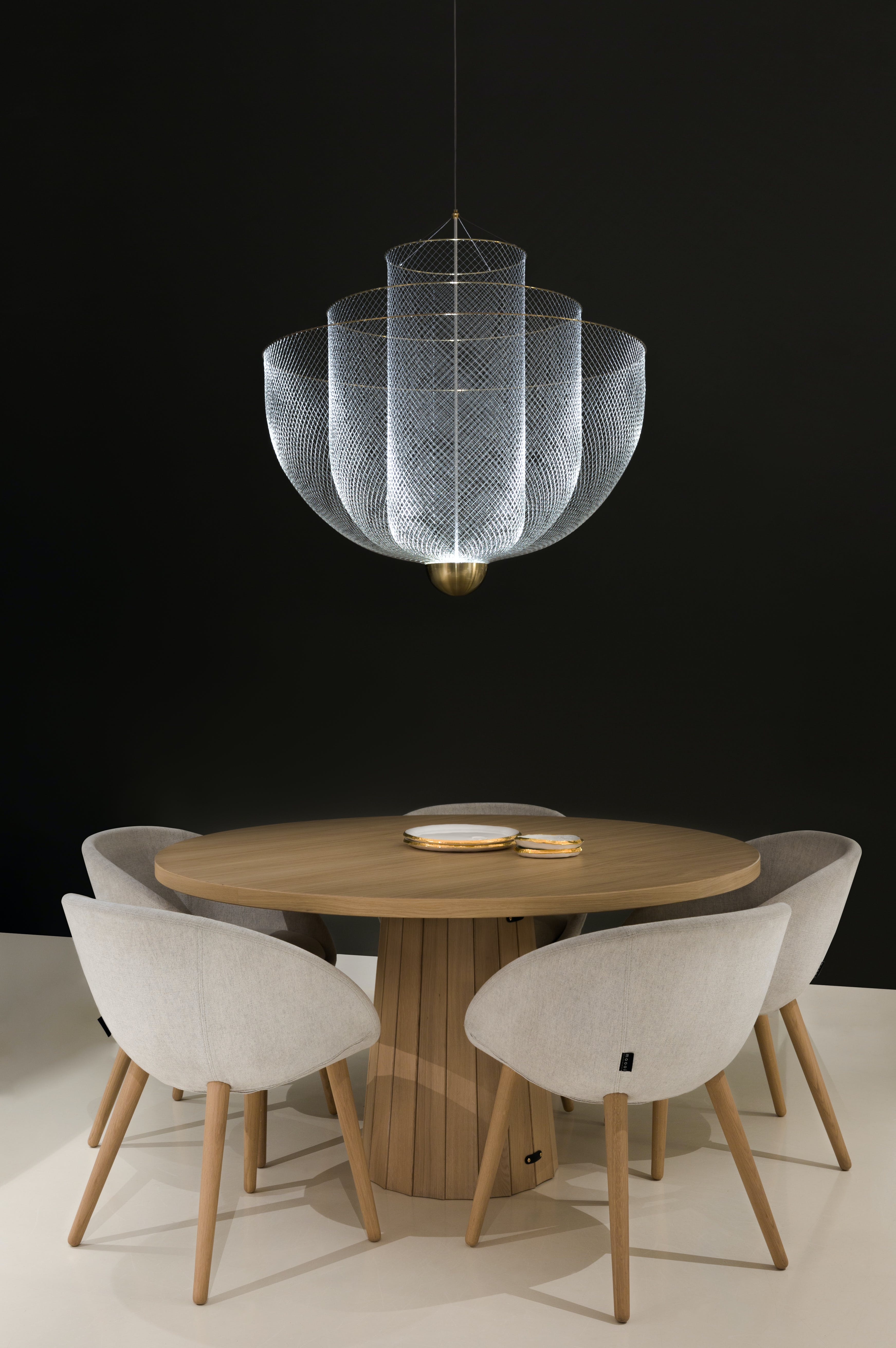 Meshmatics Chandelier By Moooi At Haute Living