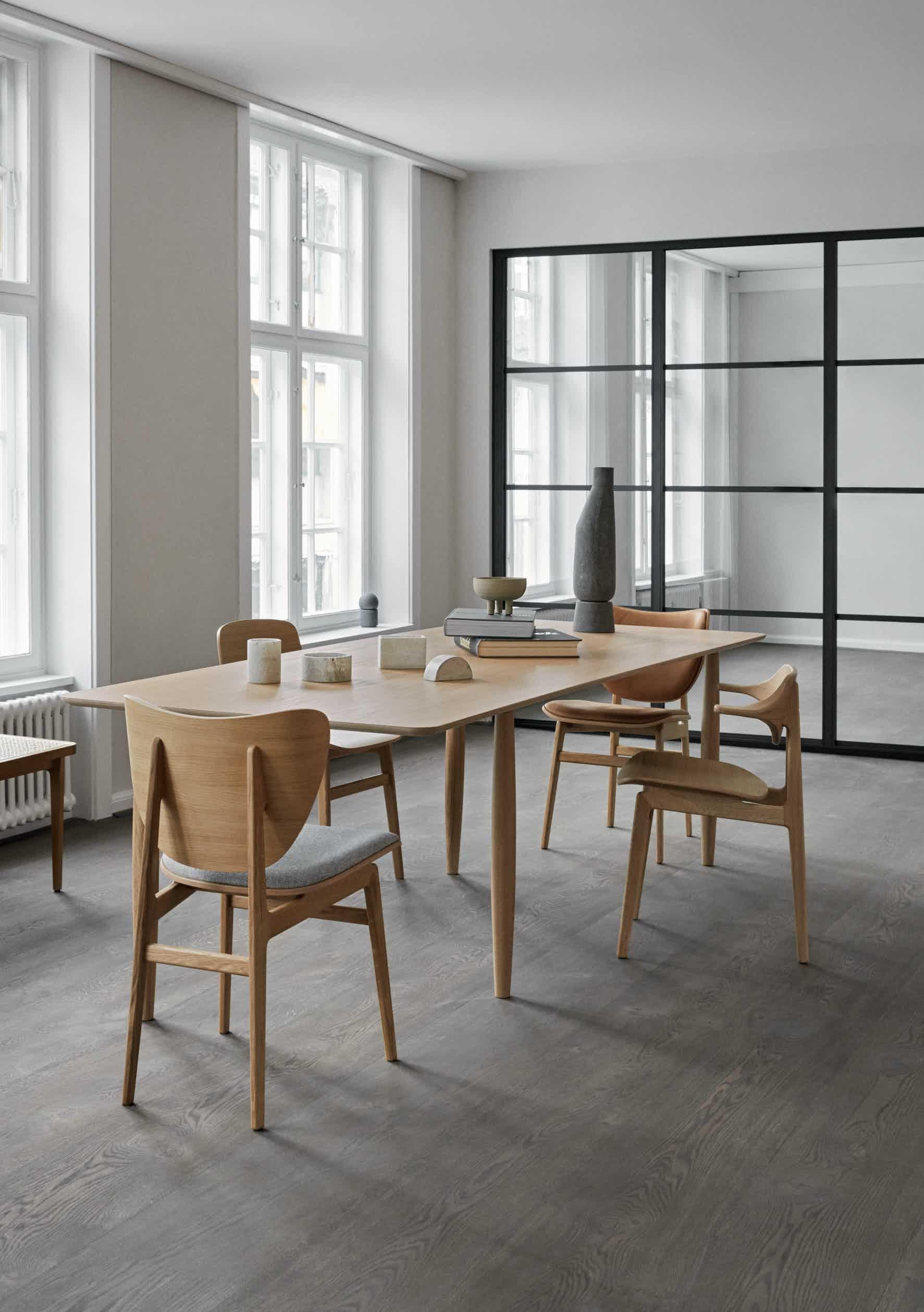 NORR11 oku dining table oak insitu haute living