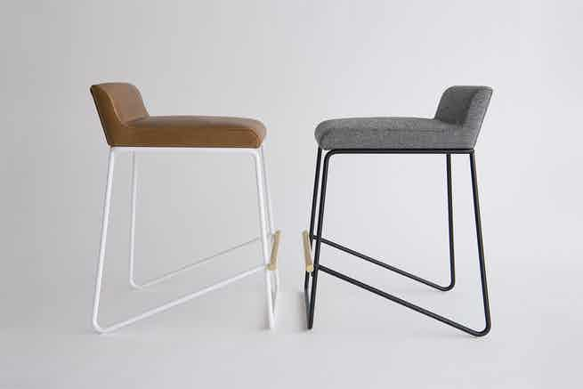Phase Design Reza Feiz Kickstand Counter Stools 1