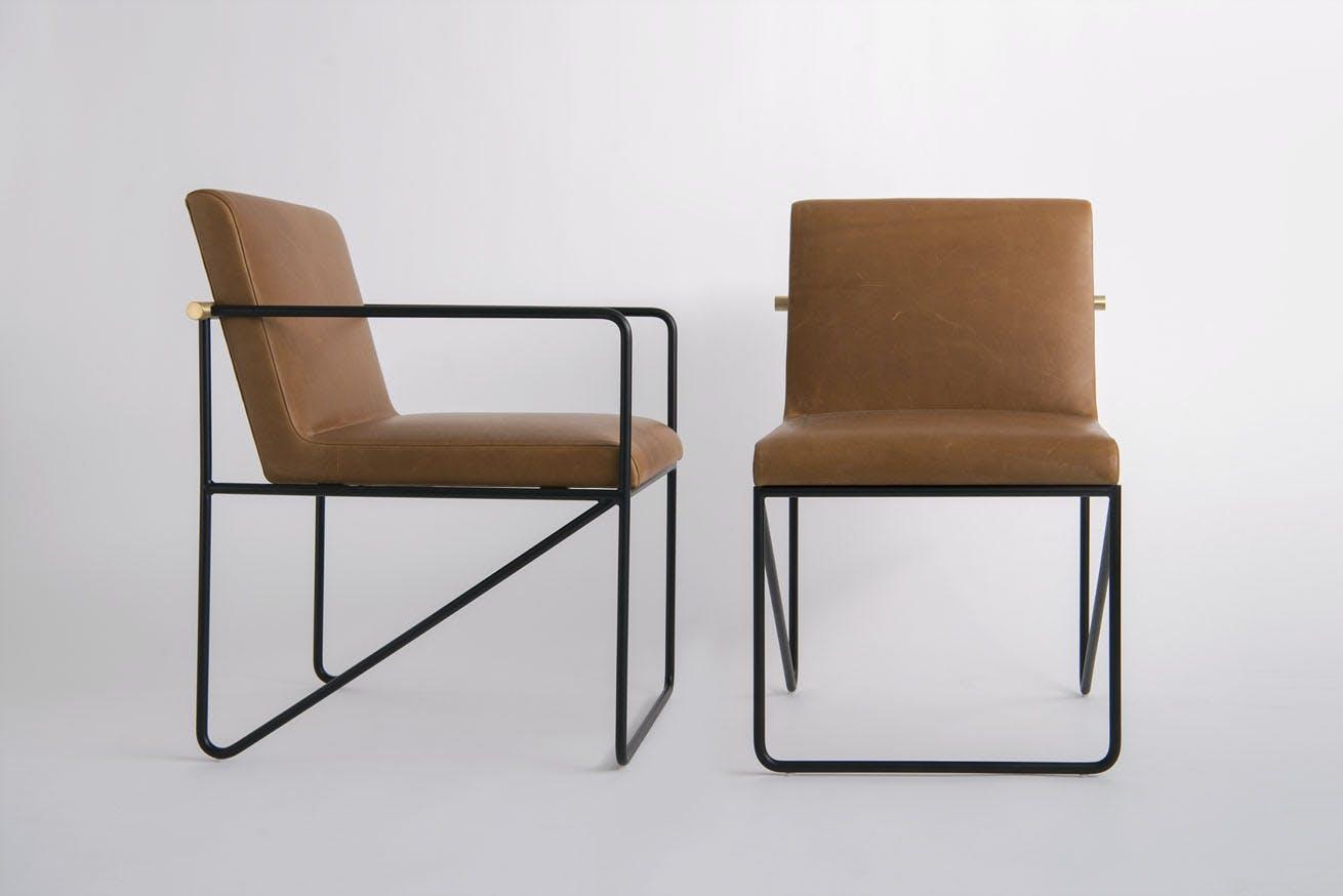 Phase Design Reza Feiz Kickstand Side Chairs 2