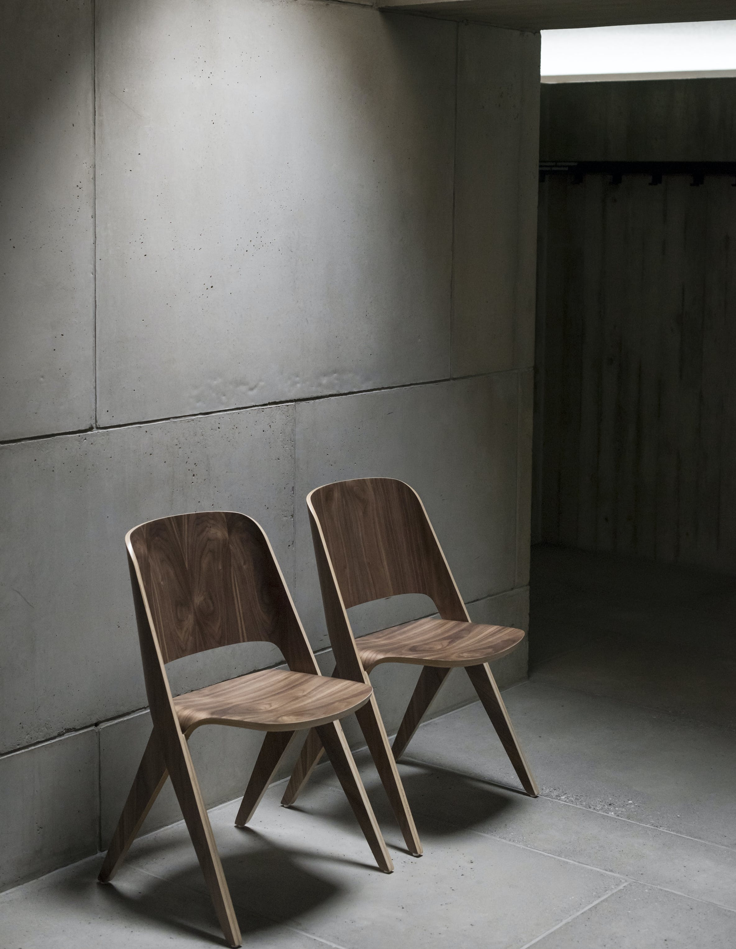 Poiat Lavitta Walnut Chairs