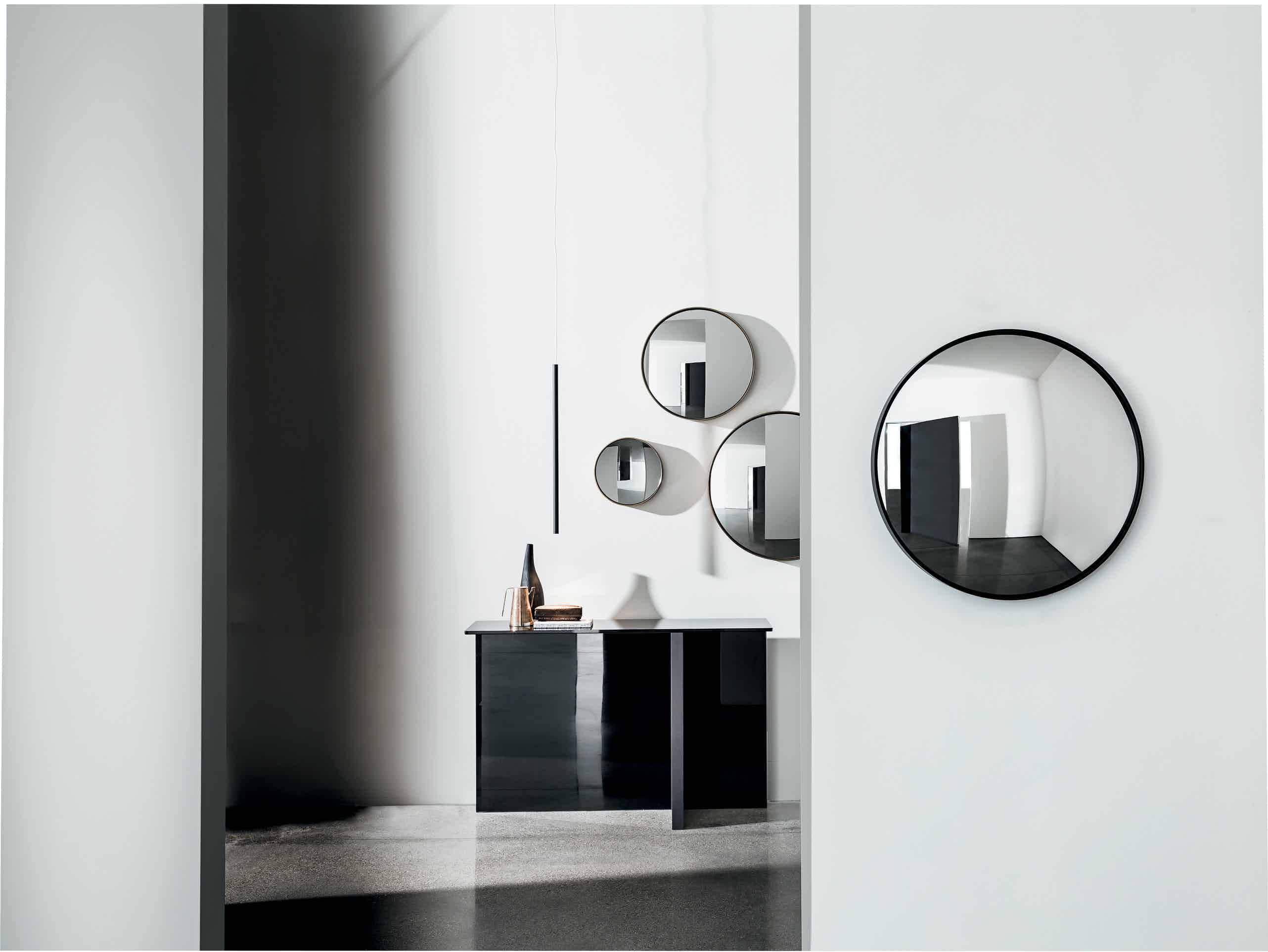 Sail Mirror With Lacquered Metal Frame By Sovet 1