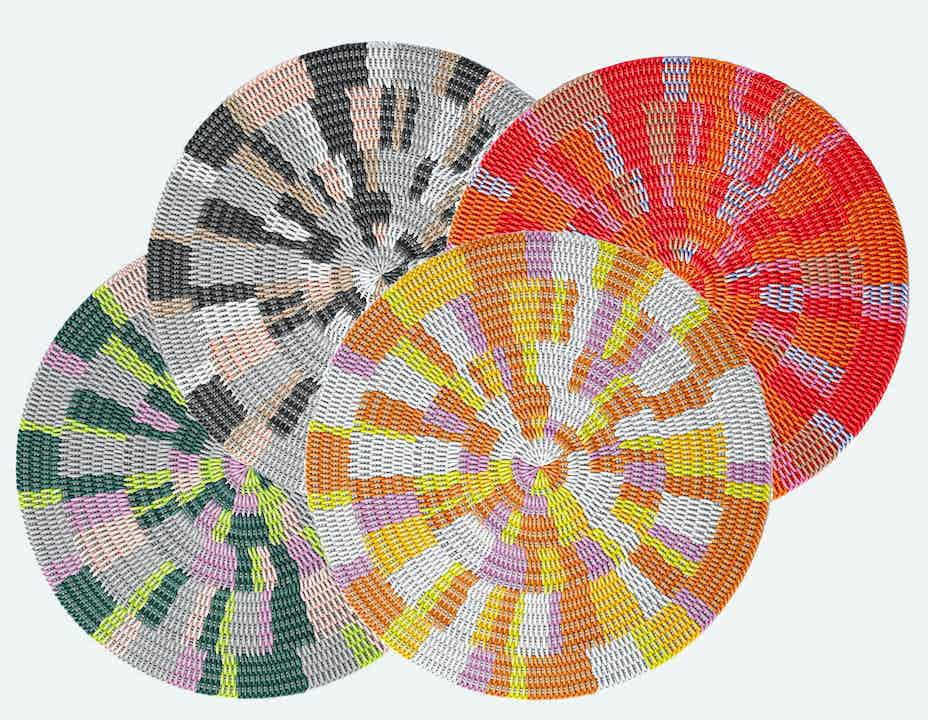The Zuma Round Rug collection