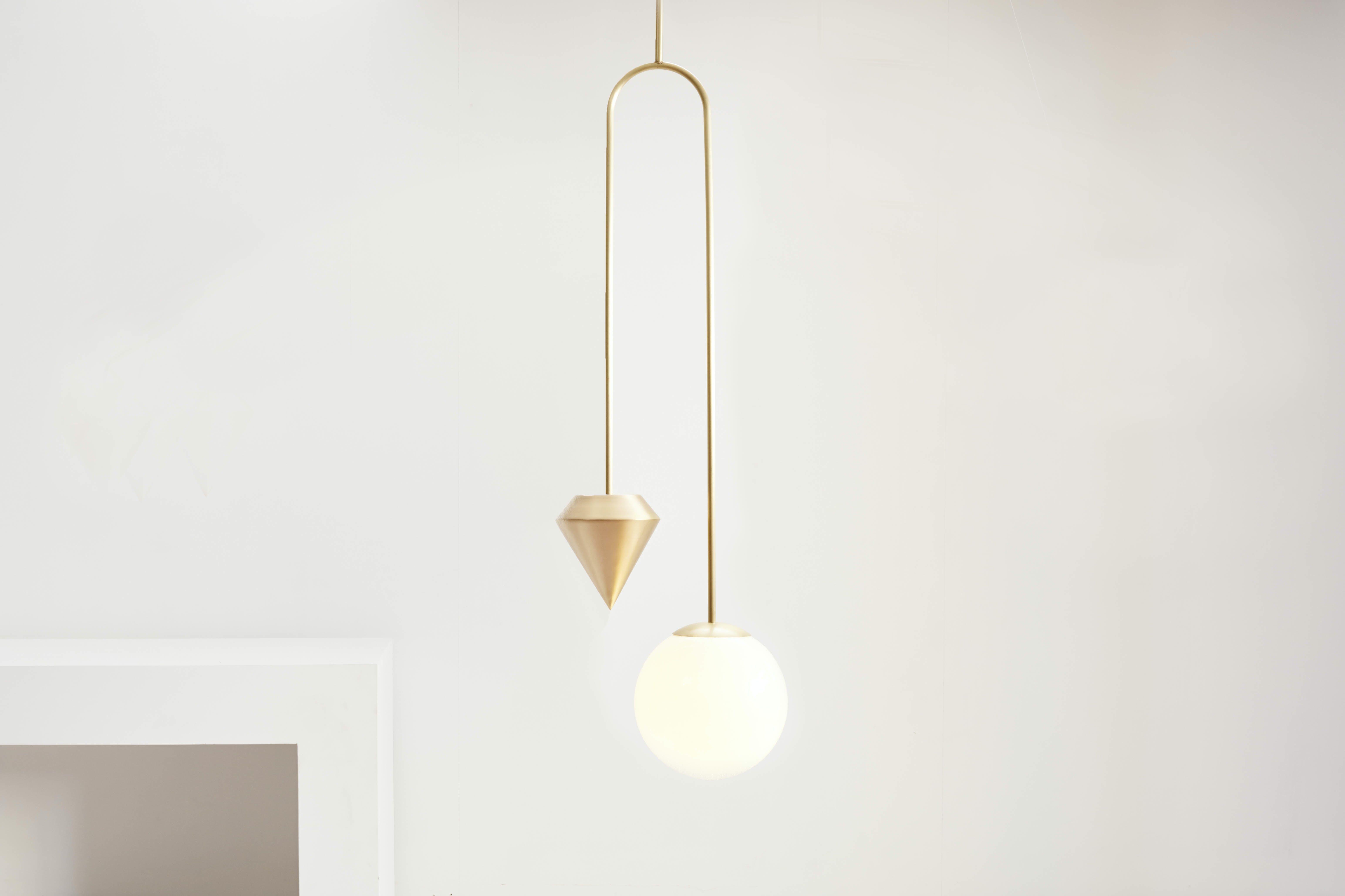 Short Plumb Light