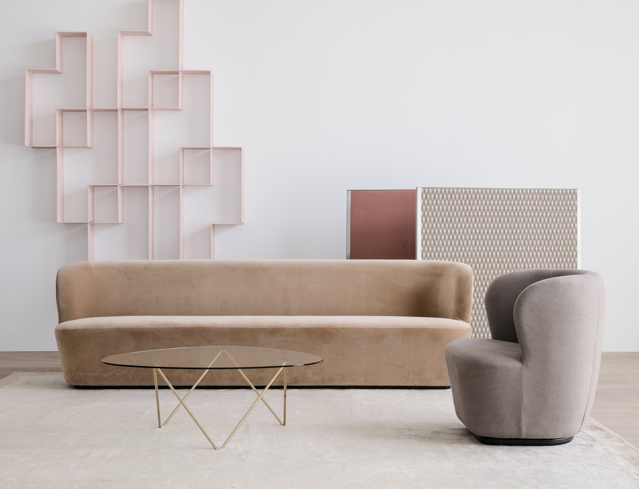 Stay Oval Sofa By Gubi At Haute Living