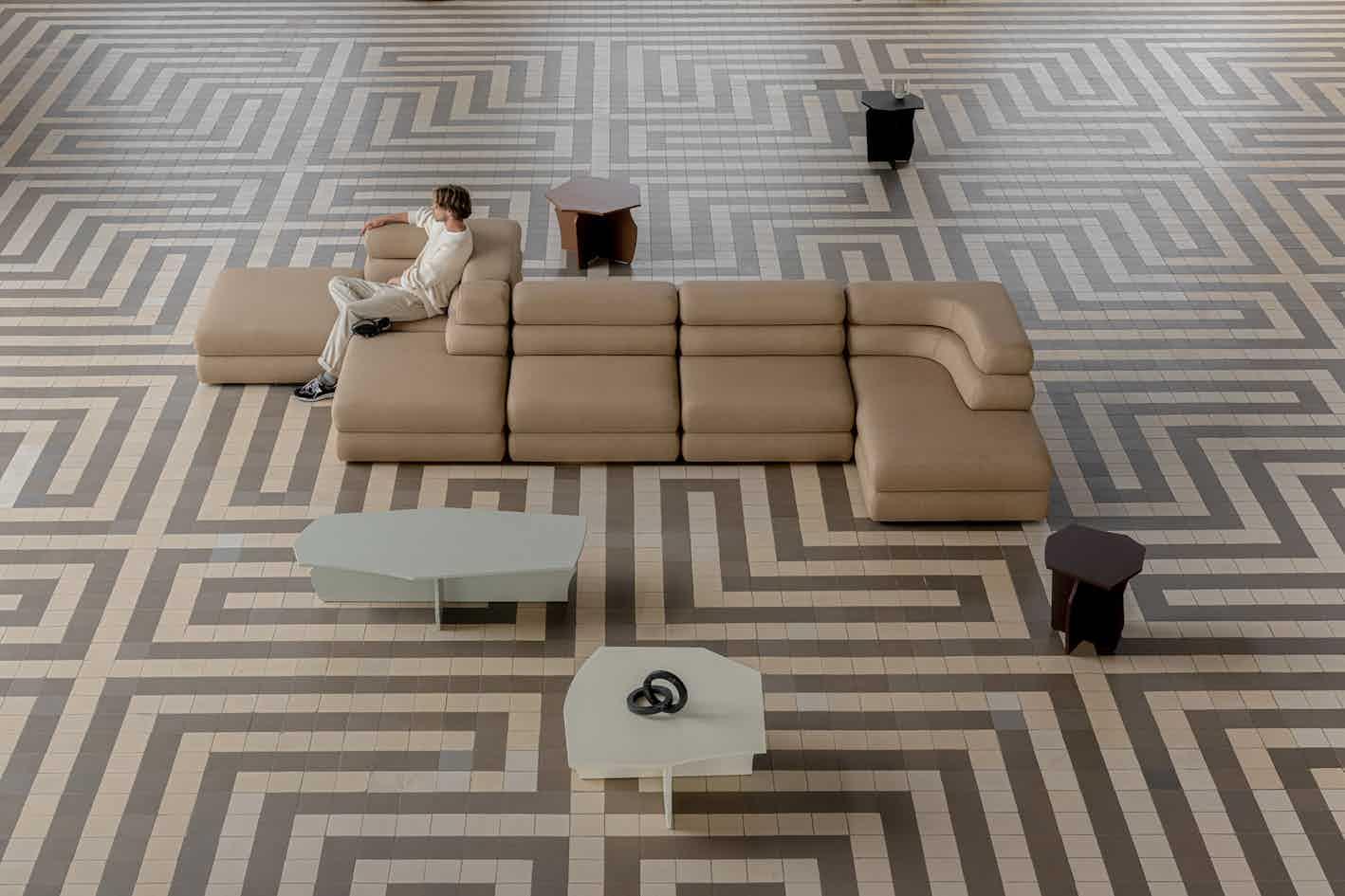 Studio HENK layer sofa insitu