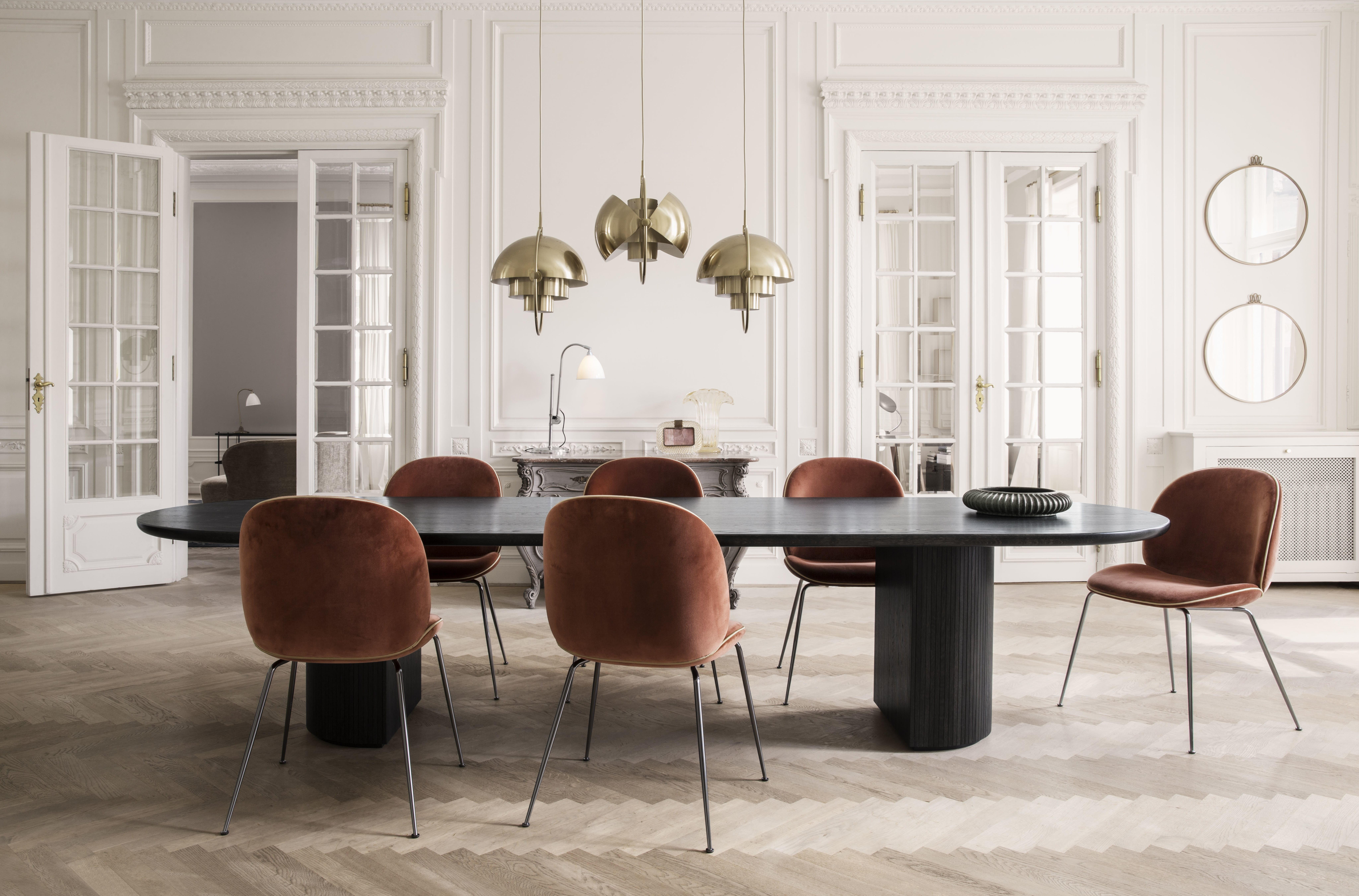 The Moon Dining Table By Gubi At Haute Living
