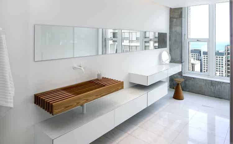 Vaintrub Residence Bathroom