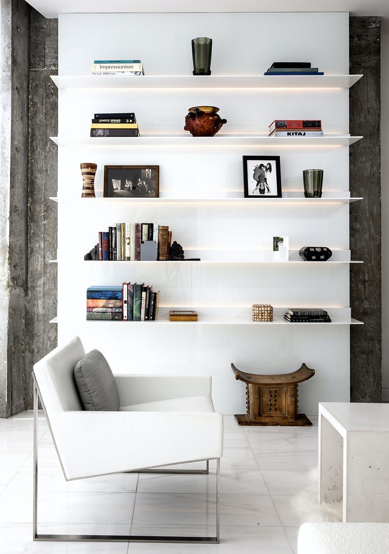 Vaintrub Residence Book Shelf