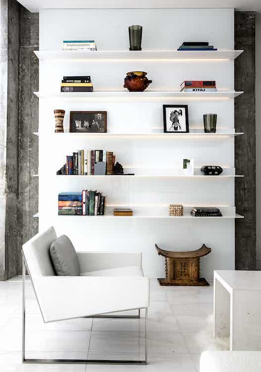 Vaintrub Residence Book Shelf