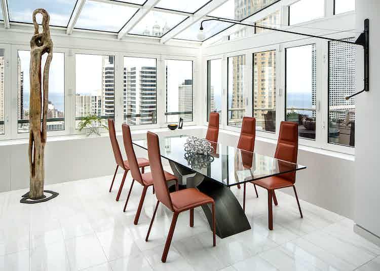 Vaintrub Residence Dining Room