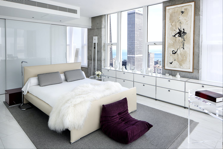 Vaintrub Residence Bedroom