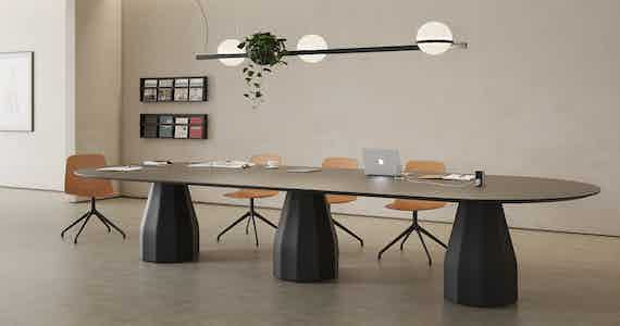 Viccarbe Burin Table by Patricia Urquiola 1 1