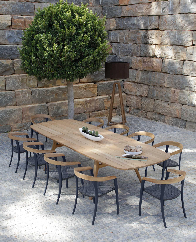 Zidiz Extendable Table By Royal Botania At Haute Living