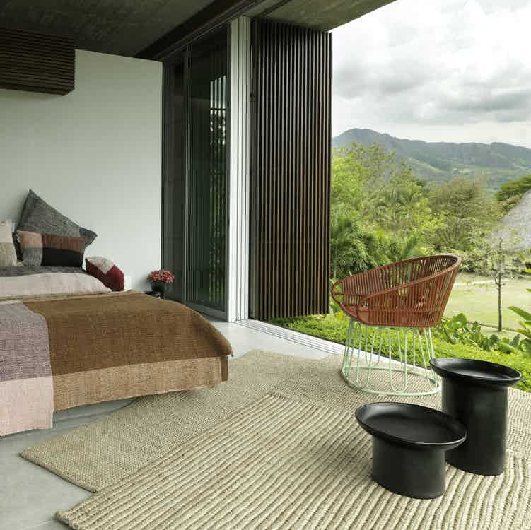 Ames furniture design cabuya rug indoor haute living