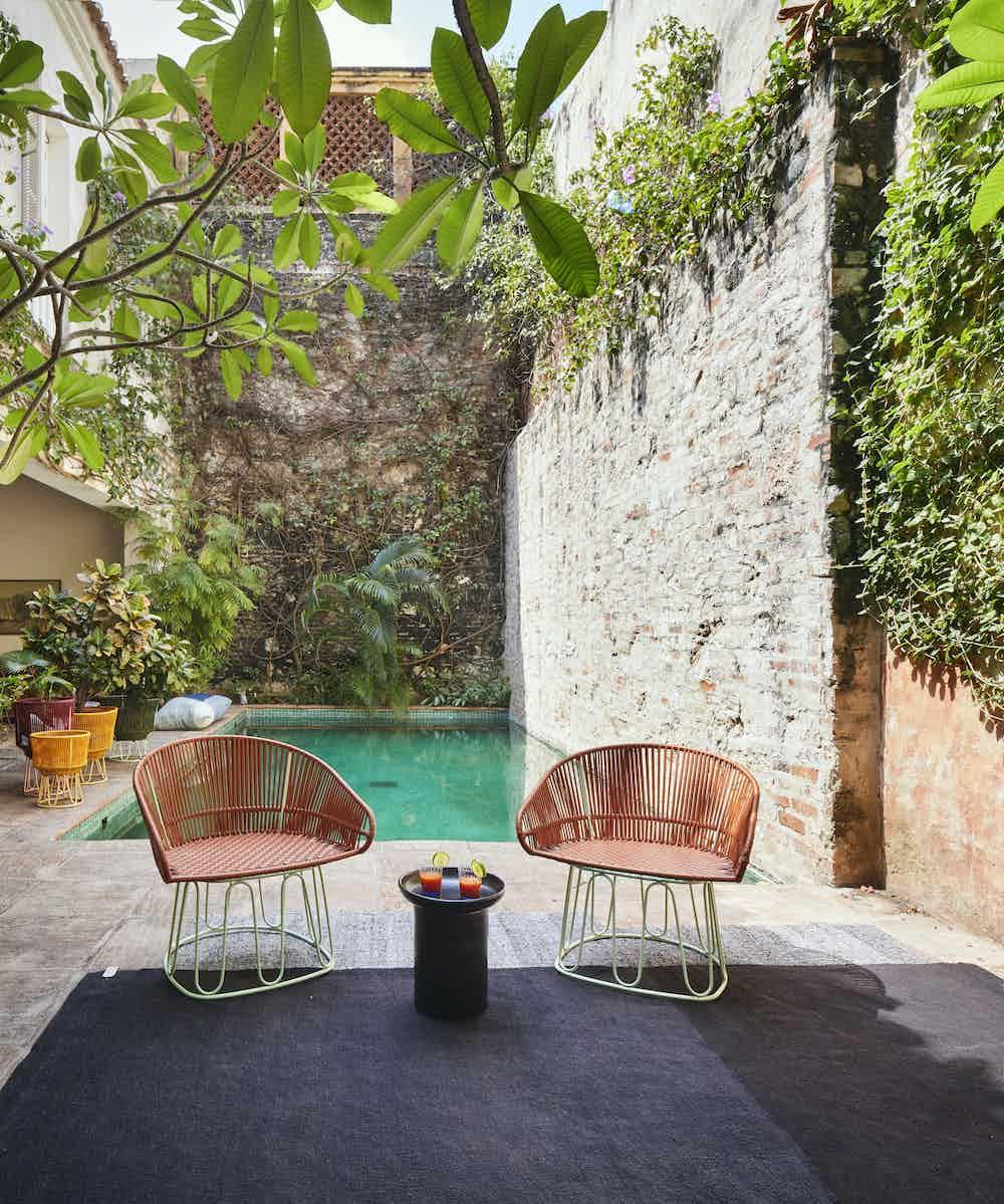 Ames furniture design circo lounge chair insitu outdoor haute living