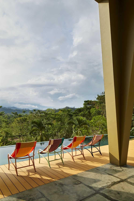 Ames furniture design maraca lounge chair back insitu haute living