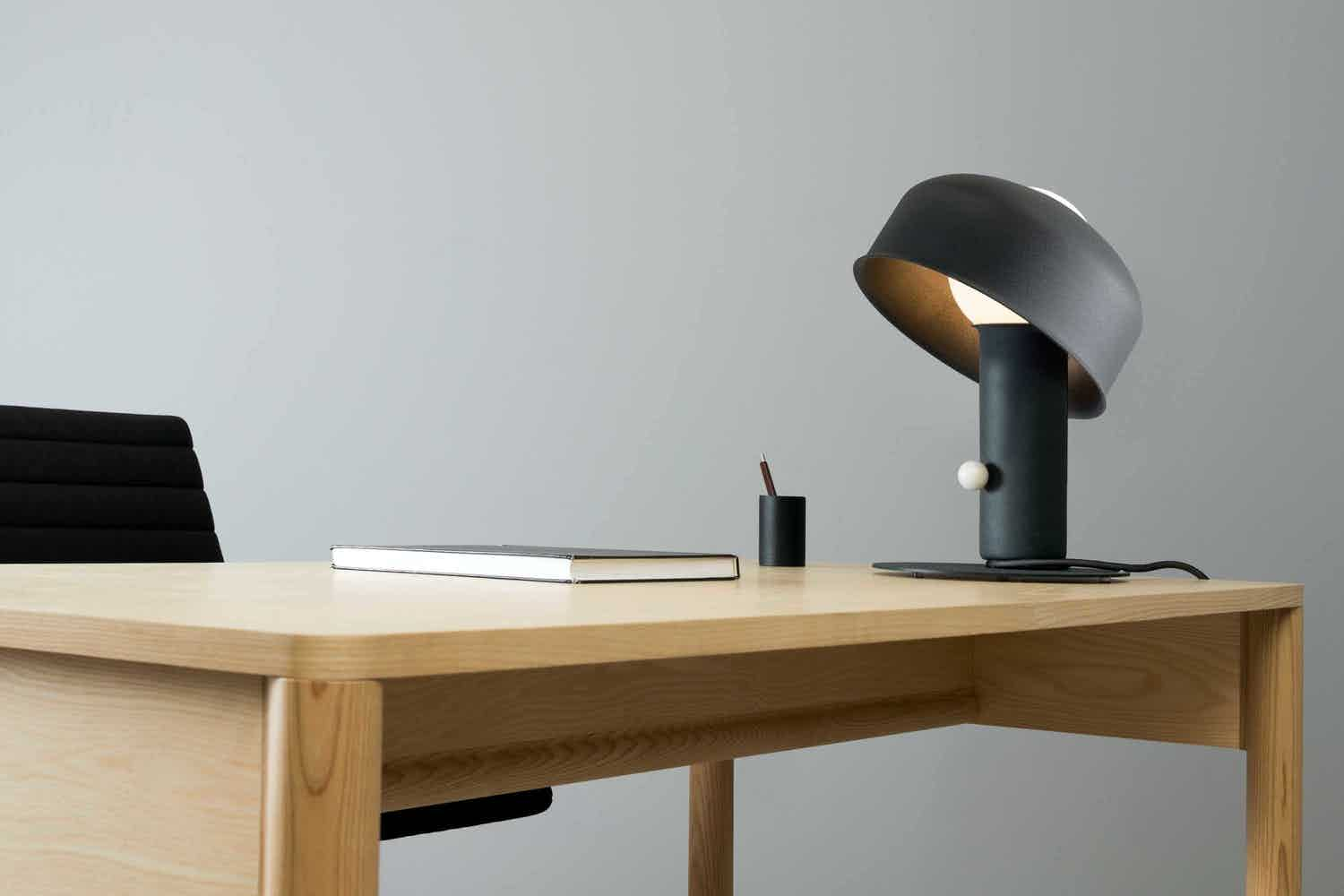 Andlight pivot table lamp insitu detail haute living