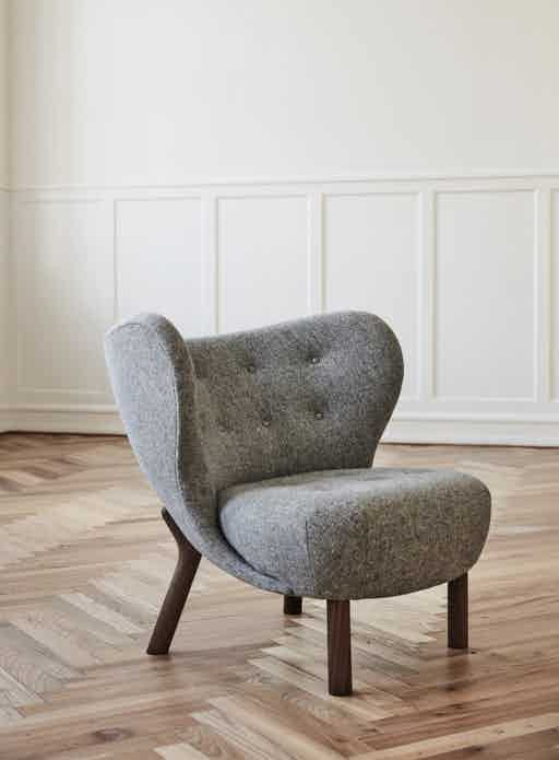 Little Petra Chair by &Tradition, now available at Haute Living