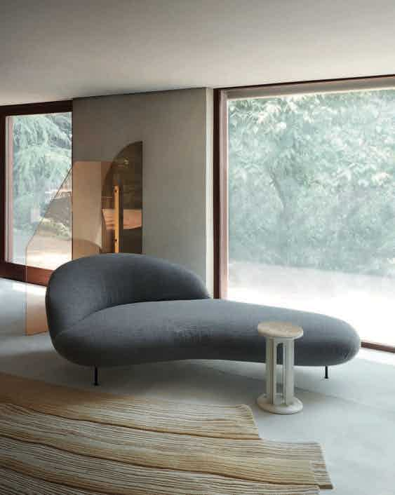 Arflex banah chaise daybed interior