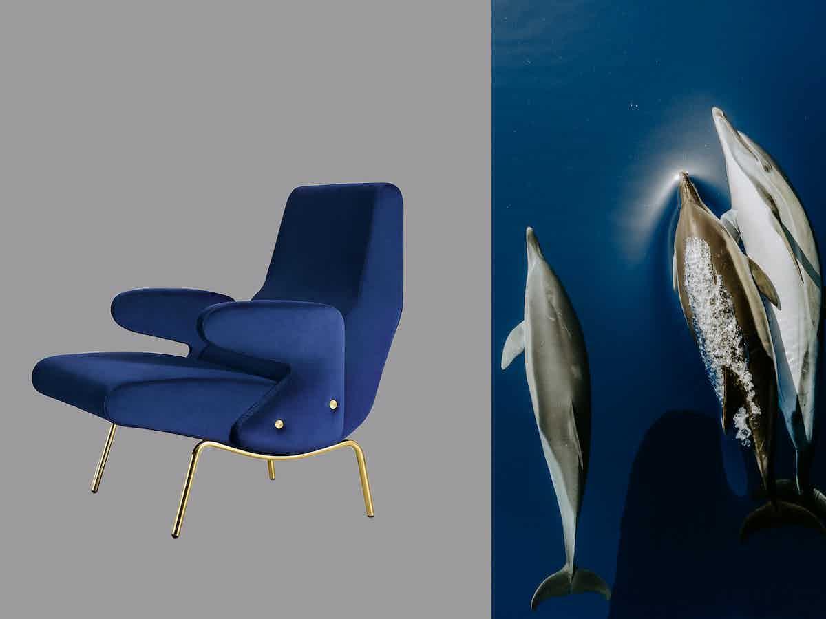 Arflex delfino chair edit