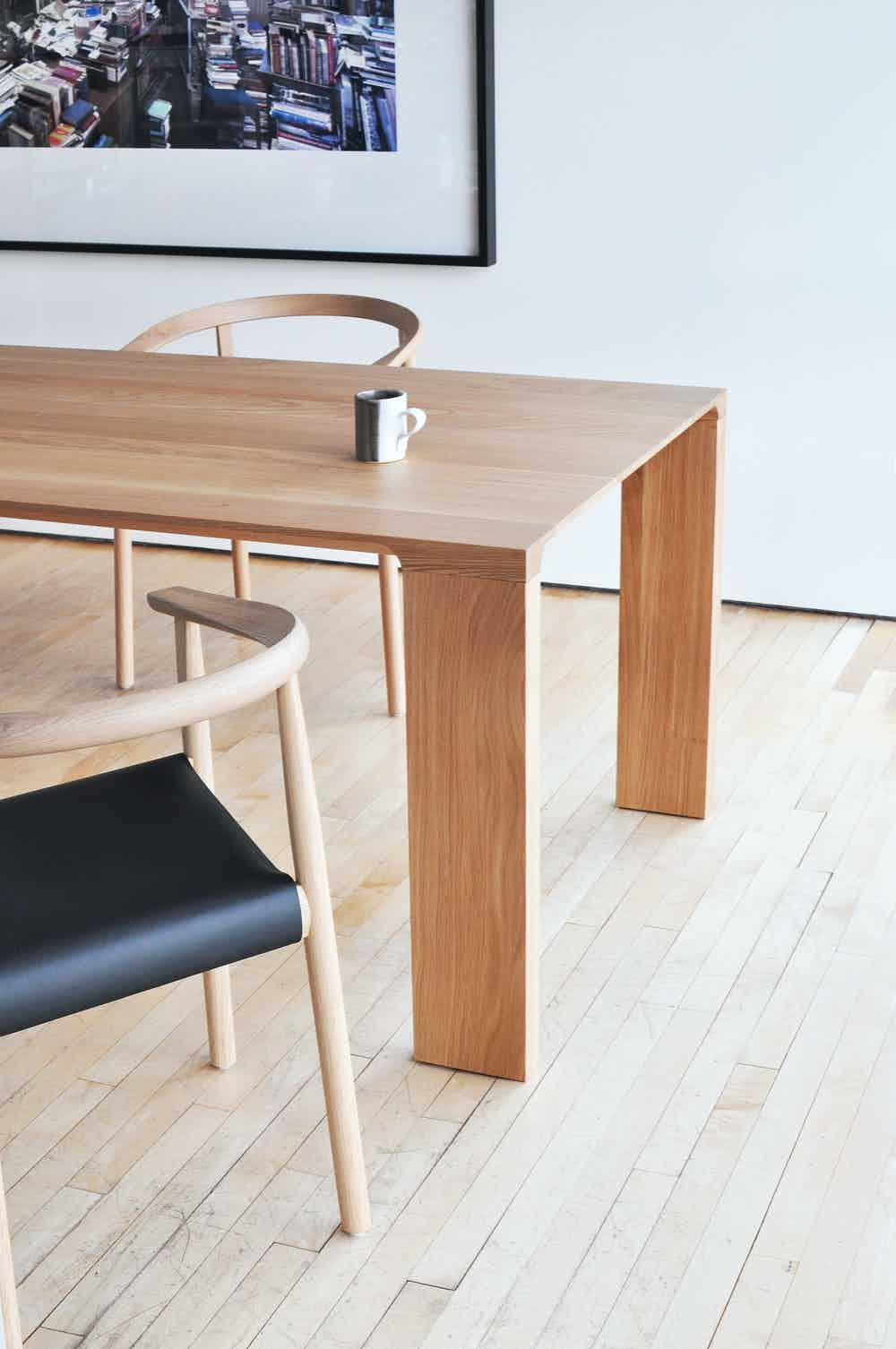 Bensen furniture radii table side haute living