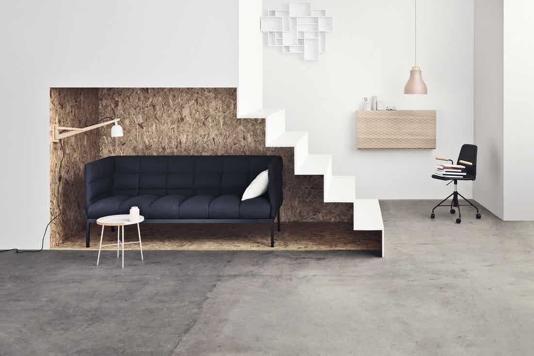 Aura Sofa by Bolia, now available at Haute Living