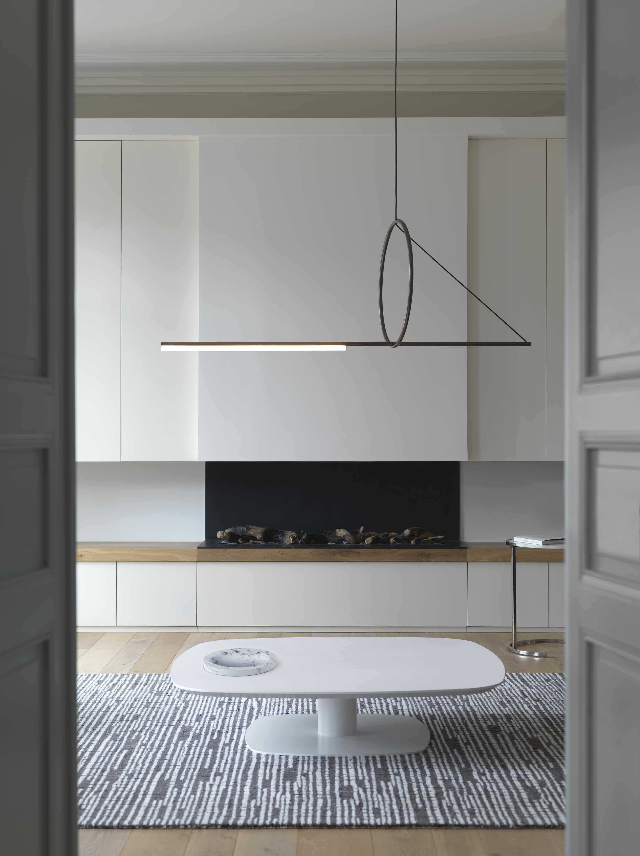 Cvl luminaires cercle suspension insitu haute living