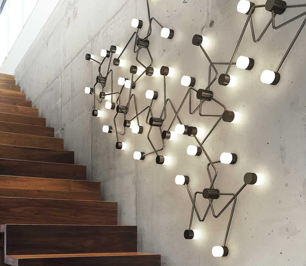 Cvl luminaires constellation wall light insitu2 haute living
