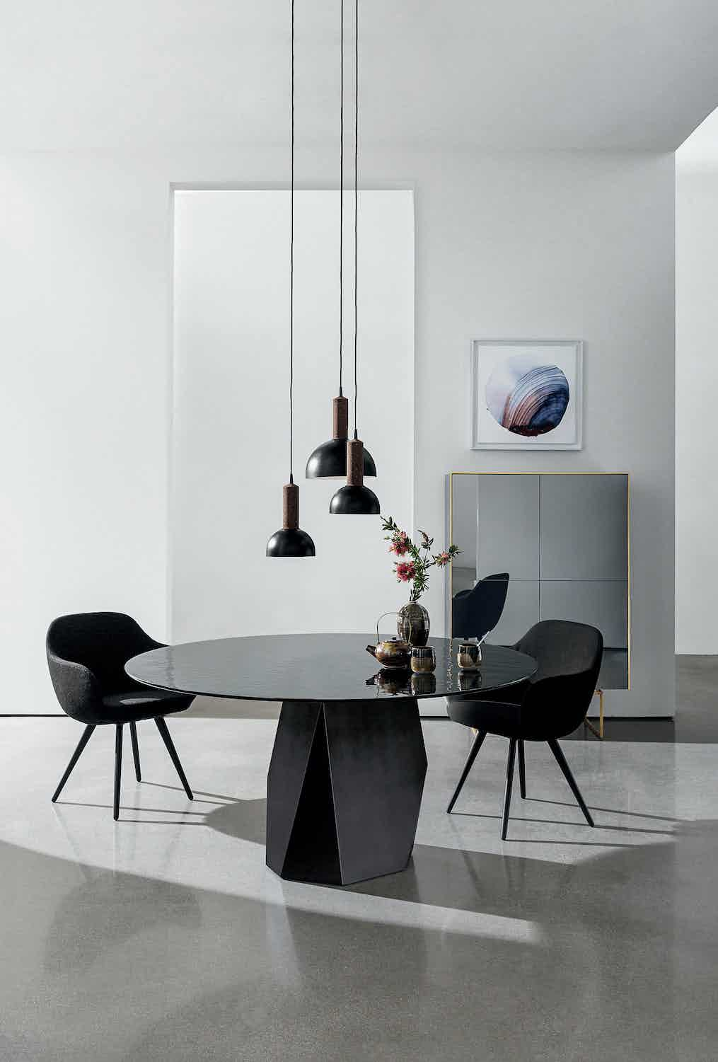 Deod dining table by sovet at haute living
