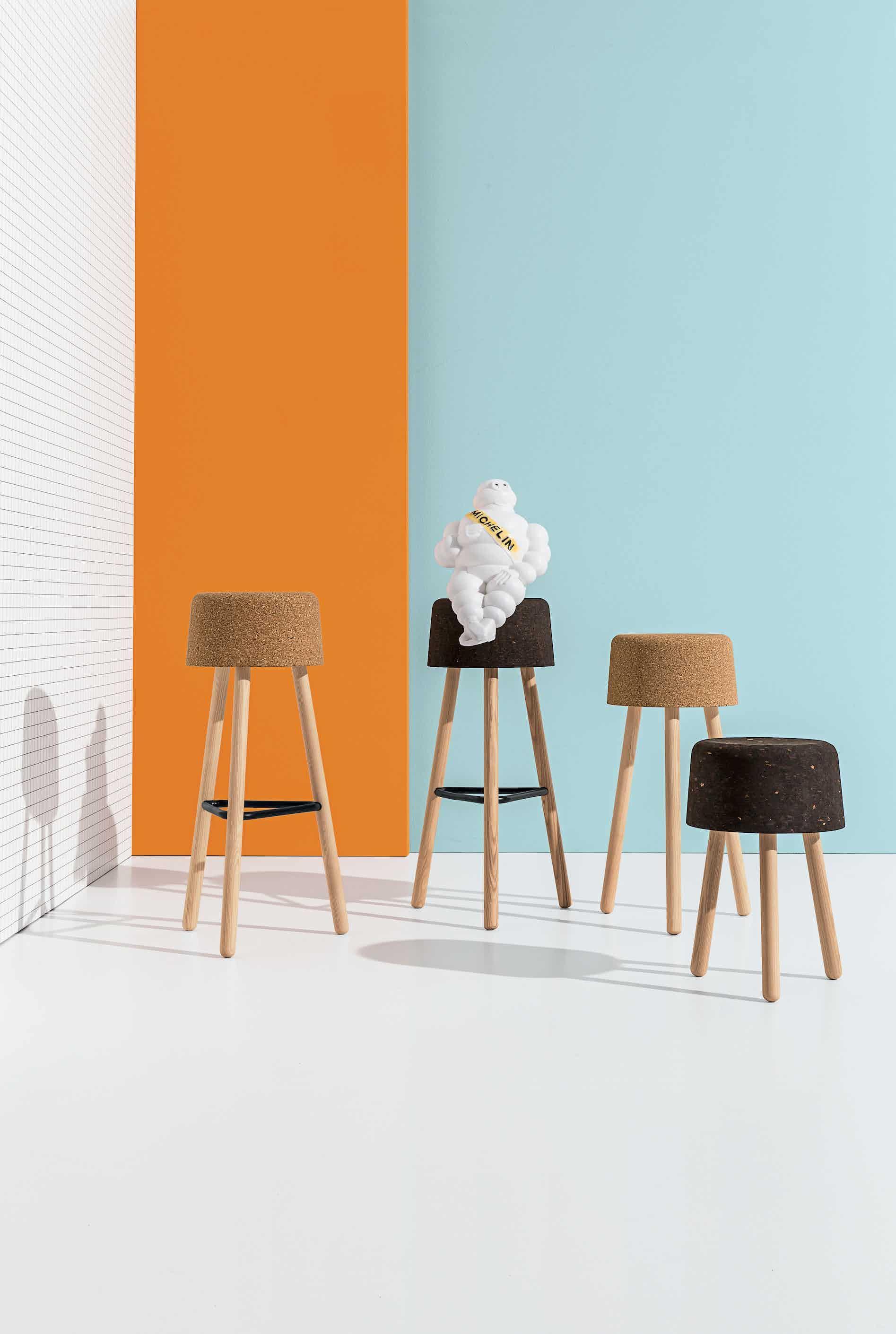 Discipline bombetta stools insitu assorted haute living