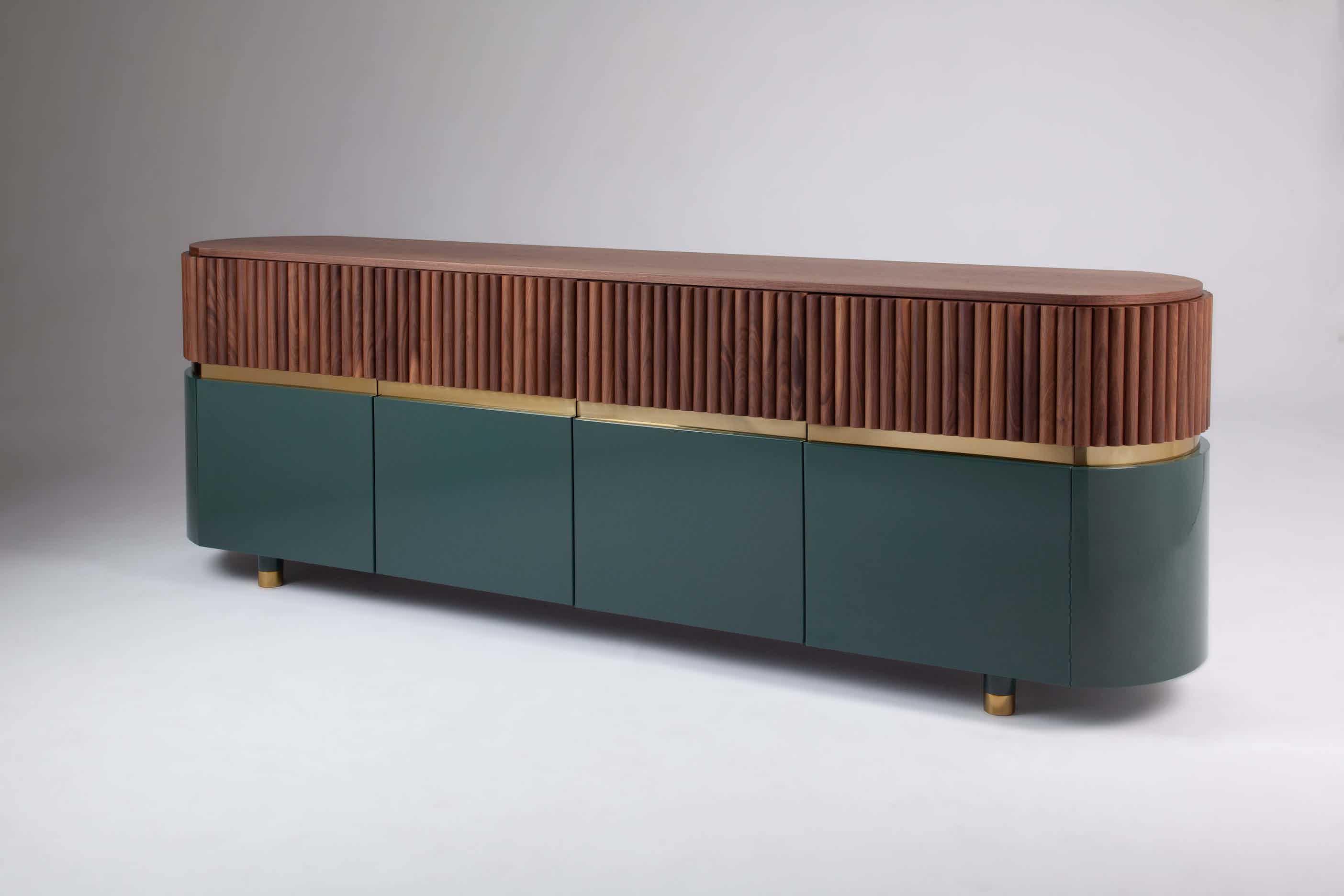 Dooq berlin sideboard green haute living