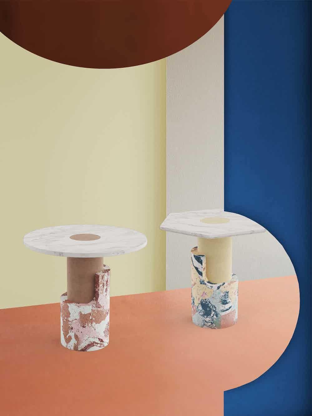 Dooq braque side table duo haute living