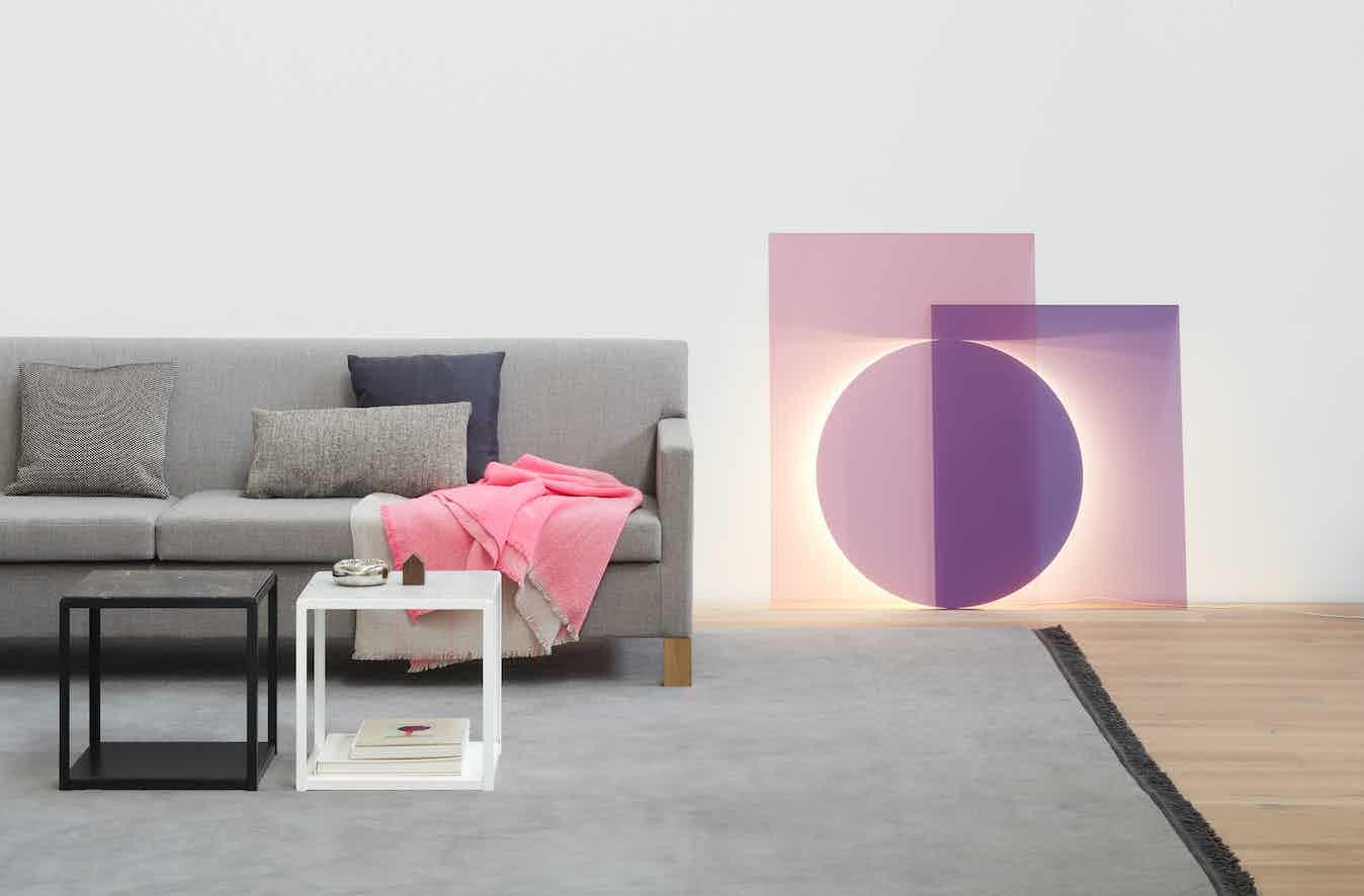 E15 furniture color floor light right couch blanket haute living