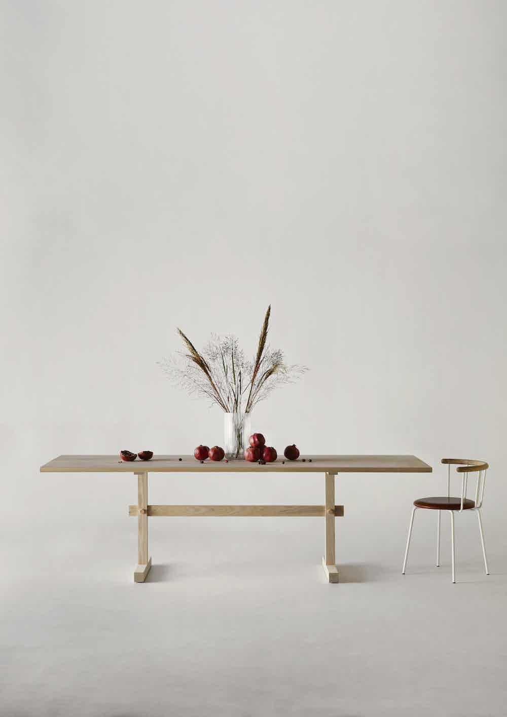 Eberhart furniture gaspard table ash insitu haute living