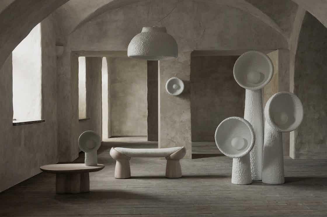 Faina design soniah small floor lamp insitu haute living