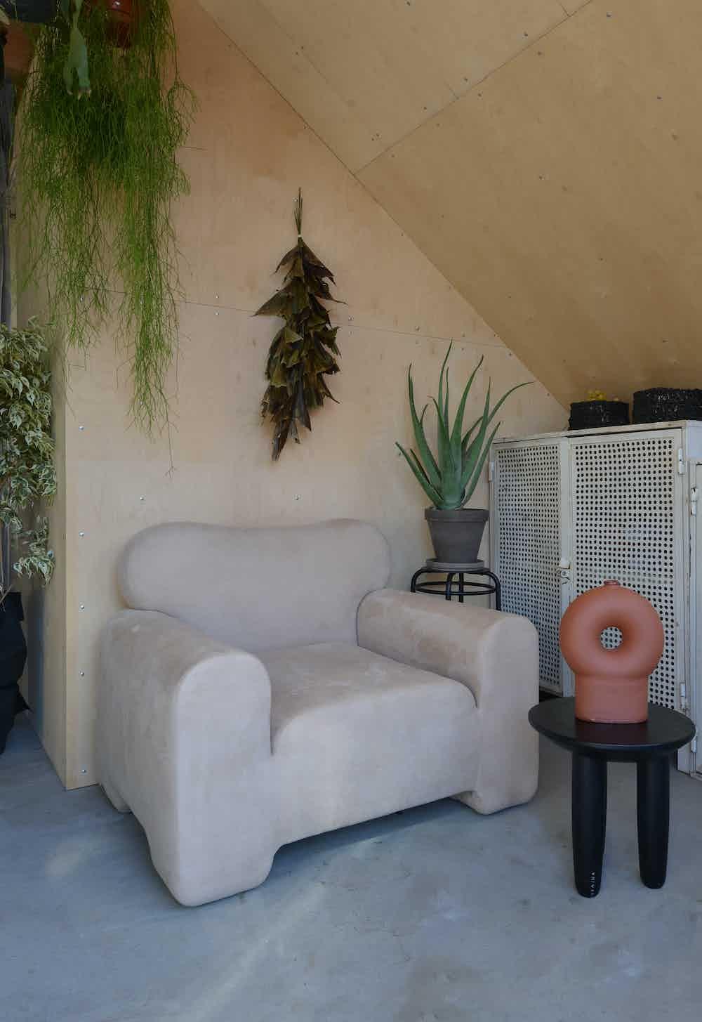 Faina pampukh armchair side insitu haute living