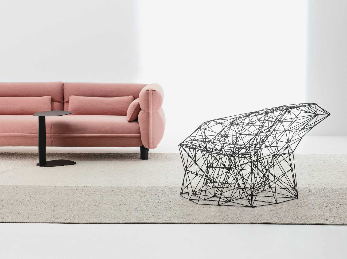 Filinea armchair by la cividina at haute living